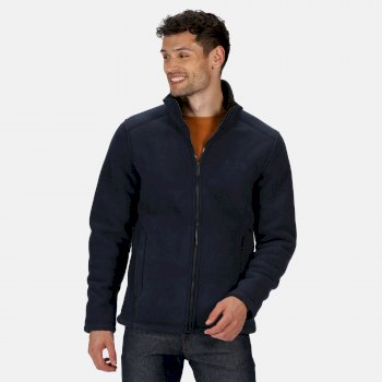Regatta Men's Garrian Full Zip Heavyweight Fleece - Navy Black