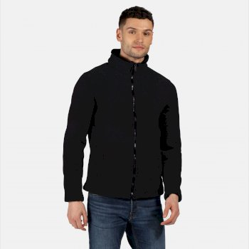 Regatta Men's Garrian Full Zip Heavyweight Fleece - Black