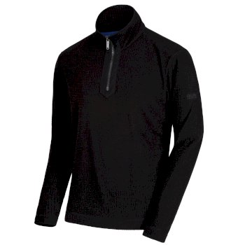 Regatta Elgon IV Half-Zip Fleece Black