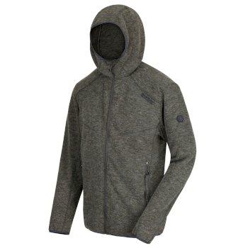 Luzon Fleece-Hoodie mit Woll-Effekt für Herren Dunkles Khaki
