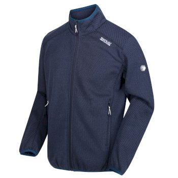 Regatta Men's Torrens Full Zip Mid Weight Fleece - Nightfall Navy