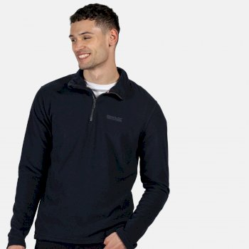 Regatta Men's Elgor Lightweight Half-Zip Fleece Navy