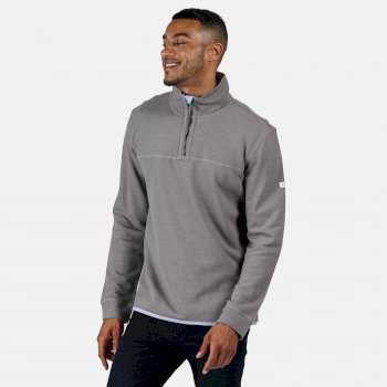 Regatta Men's Lauro Half Zip Fleece - Rock Grey