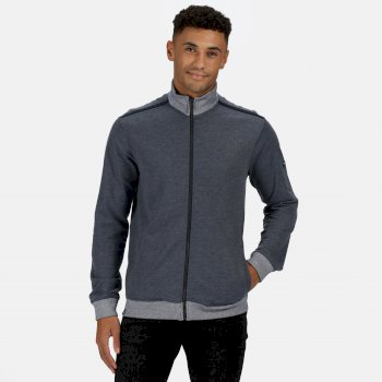 Regatta Men's Everard Full Zip Fleece - Navy Marl