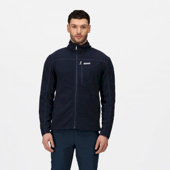 Regatta Men's Fellard Full Zip Fleece - Navy