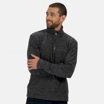 Regatta Men's Elgor II Lightweight Half Zip Fleece - Seal Grey