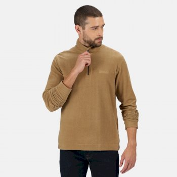 Regatta Men's Elgor II Lightweight Half Zip Fleece - Dark Camel