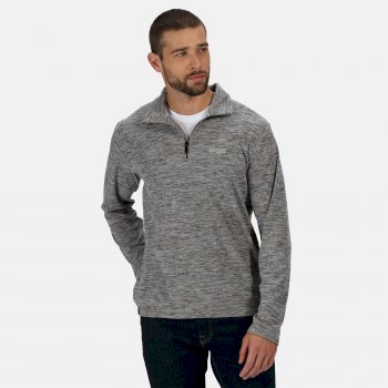 Regatta Men's Elgor II Lightweight Half Zip Fleece - Light Steel Marl