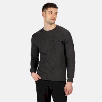Payson Sweatshirt mit Rundhalsausschnitt für Herren Grau