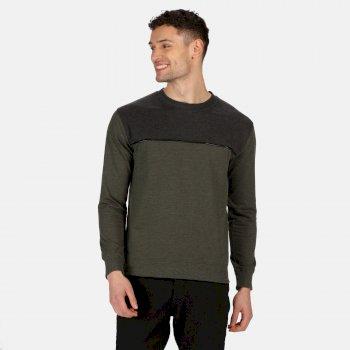 Payson Sweatshirt mit Rundhalsausschnitt für Herren Grün