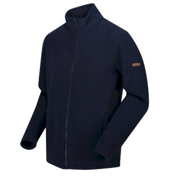 Regatta Men's Esdras Full Zip Honeycomb Fleece - Navy