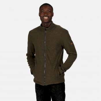 Regatta Men's Esdras Full Zip Honeycomb Fleece - Bayleaf