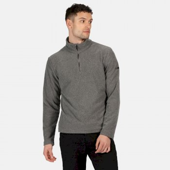 Regatta Men's Edley Half Zip Two Tone Fleece - Asteroid Grey