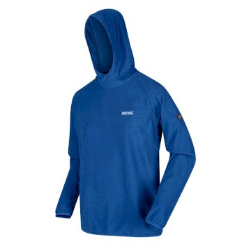Montes leichter Kapuzenpullover für Herren Blau