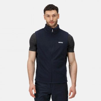 Regatta Tobias II Lightweight Fleece Gilet Bodywarmer Navy Oxford Blue