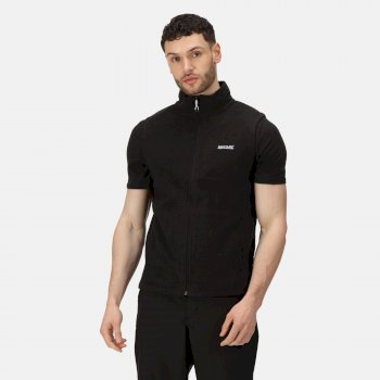 Regatta Men's Tobias II Lightweight Fleece Gilet Black