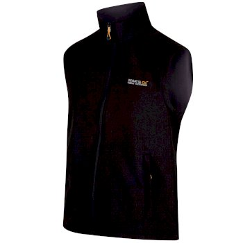 Regatta Men's Bradwell II Wind Resistant Stretch Softshell Gilet Black Iron