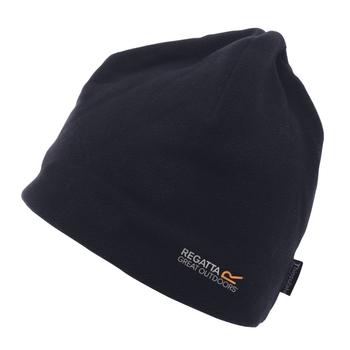 Kingsdale Thermo-Mütze aus Mikrofleece für Herren Schwarz