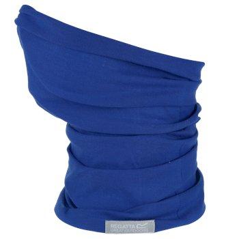 Regatta Adults Stretch Multitube Scarf Mask - Nautical Blue