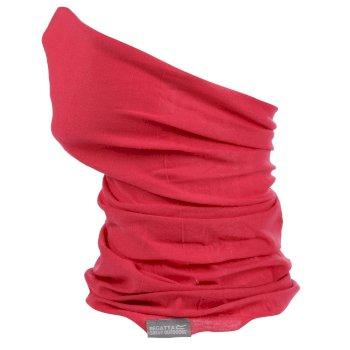 Stretch-Multi-Tunnelschal Gesichtsmaske für Erwachsene Rosa