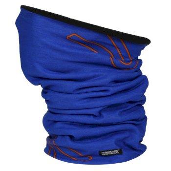 Regatta Adults Fleece Lines Stretch Multitube II Oxford Blue
