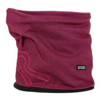 Regatta Adults Fleece Lined Stretch Multitube II - Beetroot