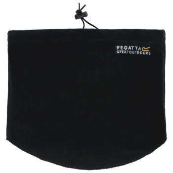 Regatta Men's Steadfast Thermal Microfleece Neck Warmer III - Black