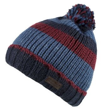 Regatta Davion Knitted Pom Pom Hat Bayleaf Multi