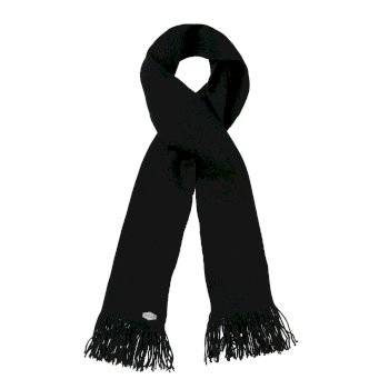Regatta Balton Acrylic Knit Scarf - Black
