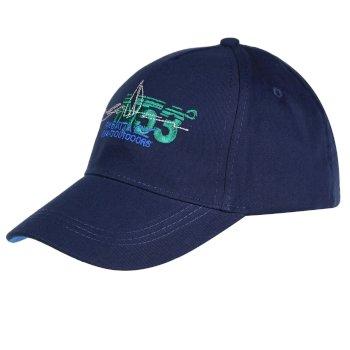 Crayton Herren-Baseball-Cap II mit Print blau
