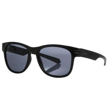 Sargon übergroße runde Sonnenbrillen für Herren Schwarz