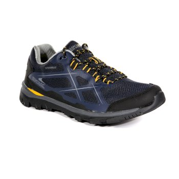 Regatta Men's Kota Low Walking Shoes Navy Blazer Zinnia