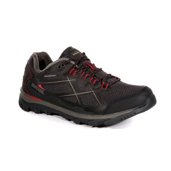 Regatta Men's Kota Low Walking Shoes Peat Classic Red