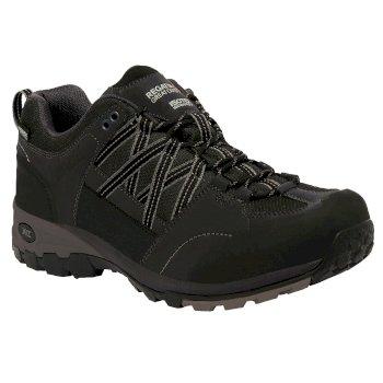 Regatta Men's Samaris Low Hiking Shoes Black Granite