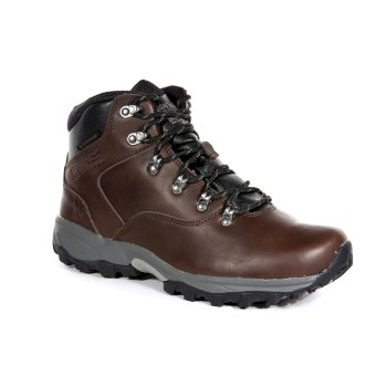 Regatta Men's Bainsford Waterproof Hiking Boots - Peat