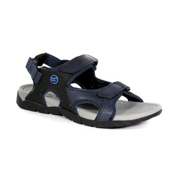 Regatta Men's Rafta Sport Sandals - Navy Oxford Blue