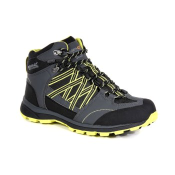 Regatta Men's Samaris II Mid Walking Boots - Briar Neon Spring