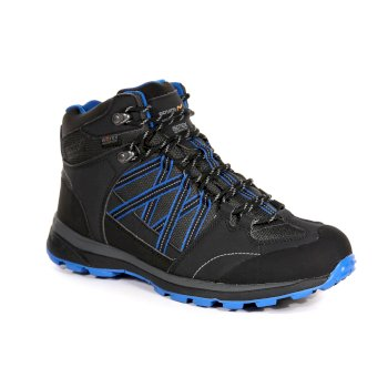 Regatta Men's Samaris II Mid Walking Boots - Ash Oxford Blue