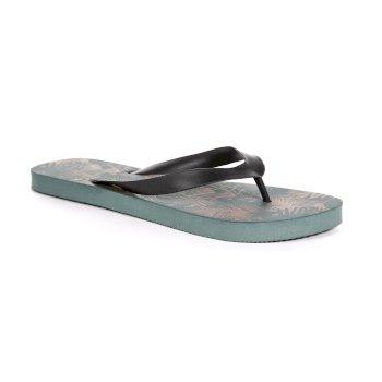 Bali Flip-Flops für Herren oliv-schwarz