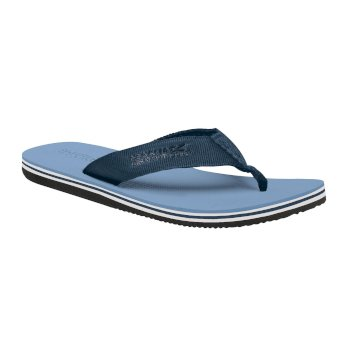 Regatta Men's Rico Flip Flops Captain's Blue