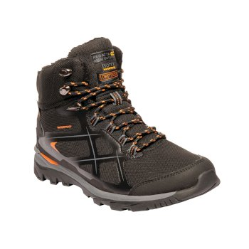Regatta Men's Kota Thermo Mid Walking Boots Black Granite