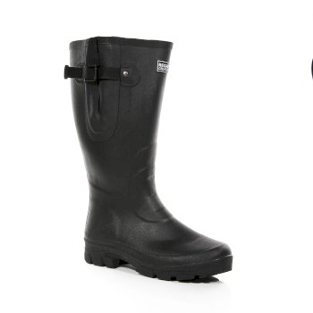 Regatta Men's Rivington Wellingtons - Black