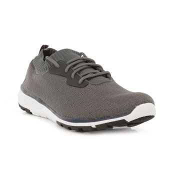 Herren Marine Active Trainer Rock Grey Blaze Orange