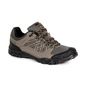 Regatta Men's Edgepoint III Walking Shoes Sand Gold Flame