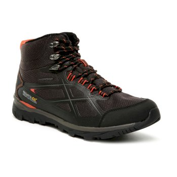 Regatta Men's Kota II Waterproof Walking Boots - Peat Rusty Orange
