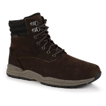 Regatta Men's Grafton Thermo Insulated Leather Boots - Peat Treetop