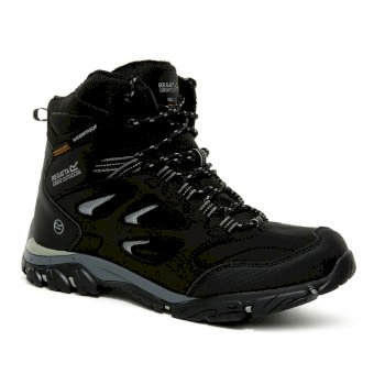 Regatta Men's Holcombe IEP Thermo Insulated Walking Boots - Black Granite