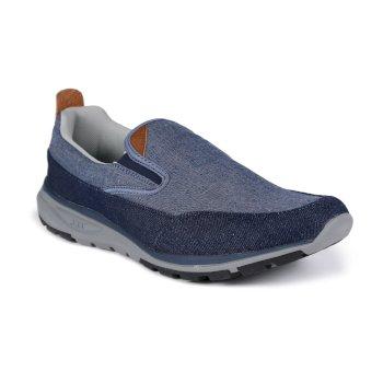 Marine Slide Sportschuhe zum Reinschlüpfen für Herren Blau