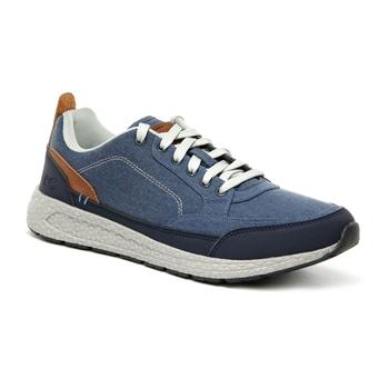 Ashcroft leichte Leinen-Sportschuhe für Herren Blau