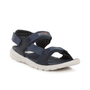 Marine Web Sandalen für Herren Blau